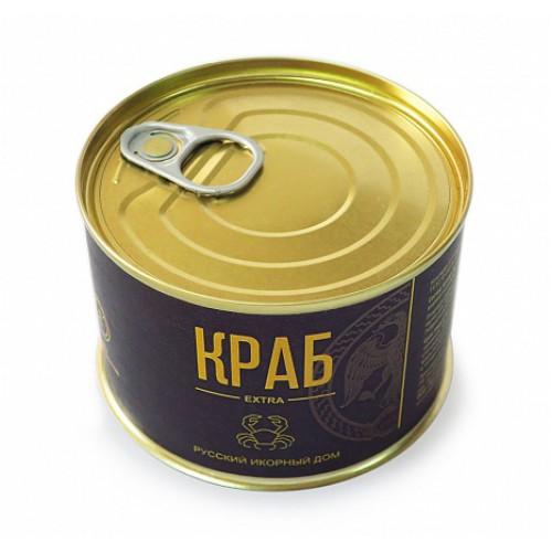 """Мясо краба """"Экстра"""" 240 гр"""
